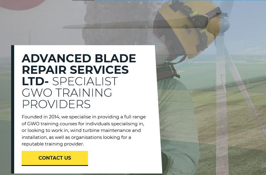 Advanced Blade Repair Services Limited
